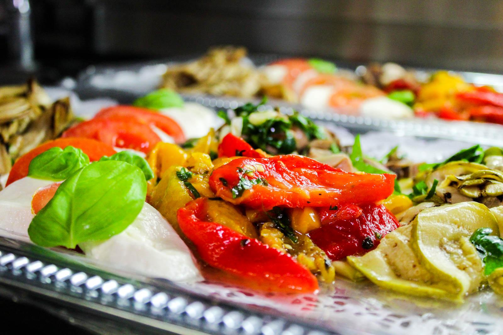 frisches Gemüse ist bei unserem Lieferservice selbstverständlich
