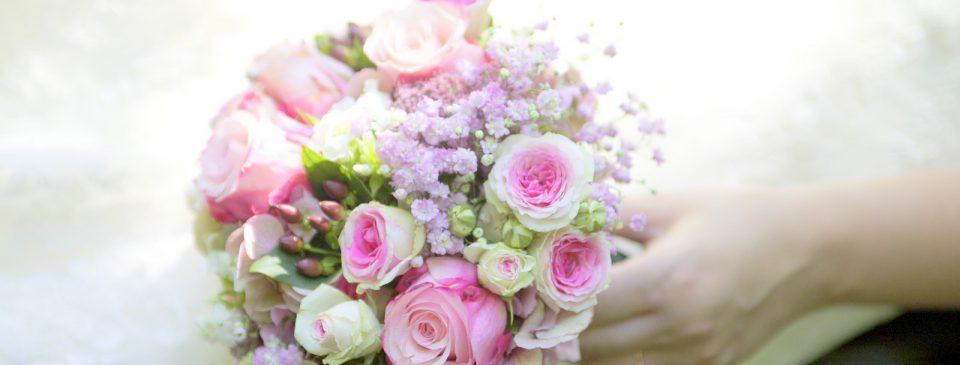 Ein Brautstrauß ist ein Element