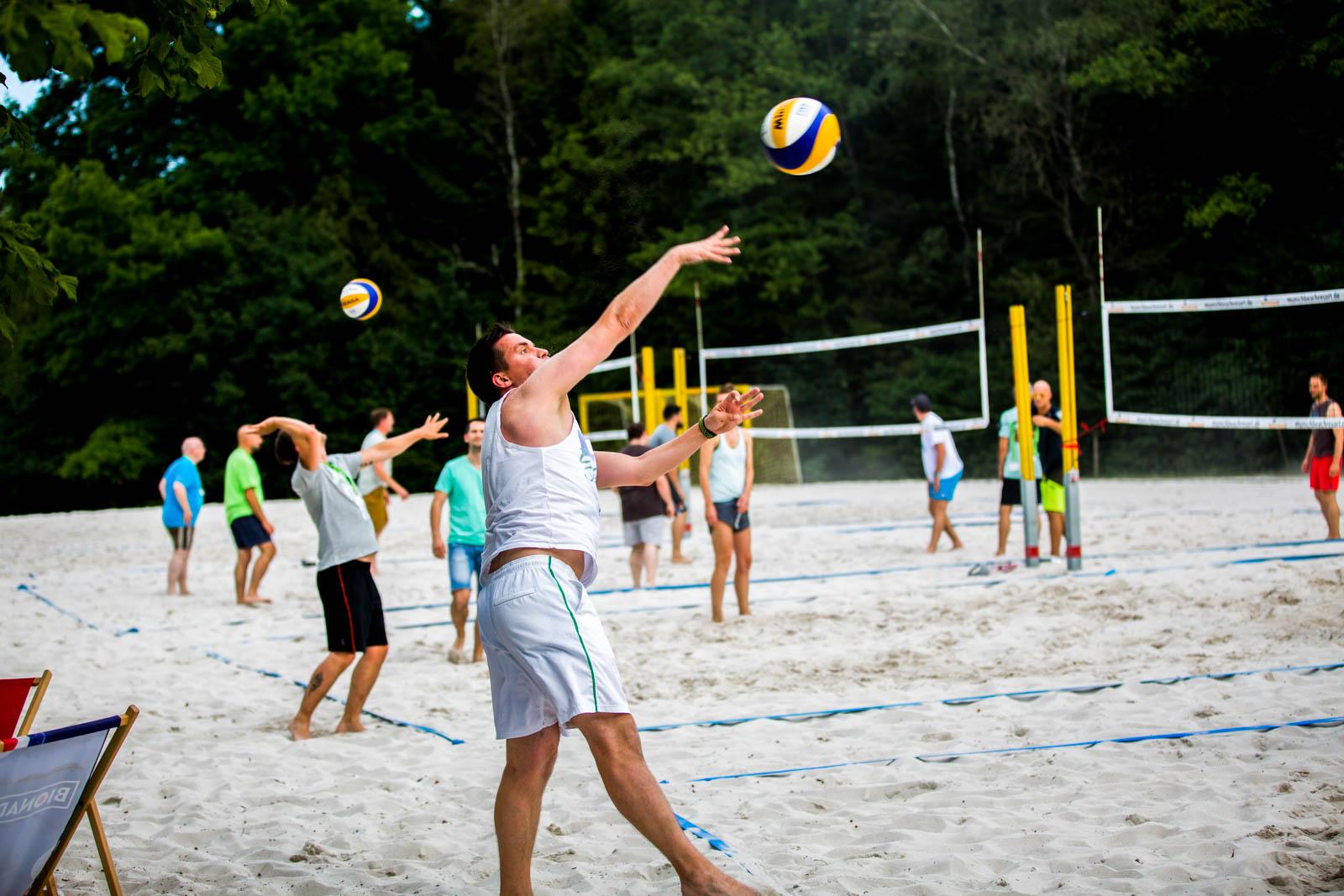 In Oberschleißheim gibt es tonnenweise herrlichen Sand
