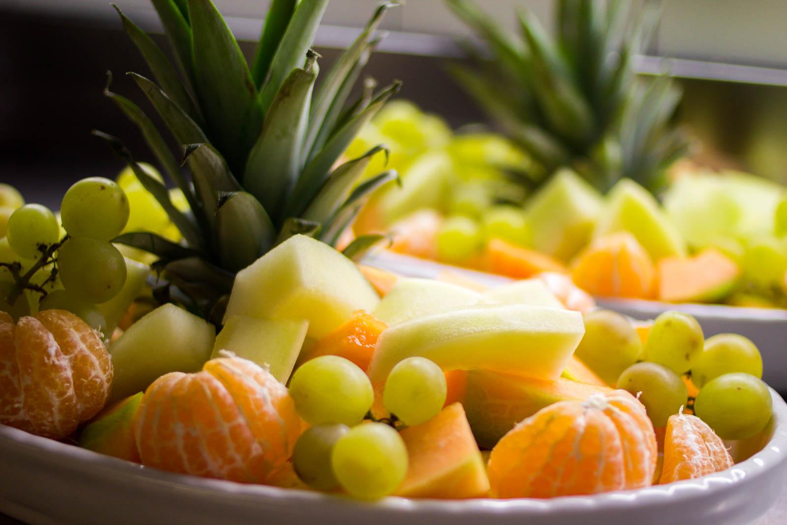 Obst für das Frühstück