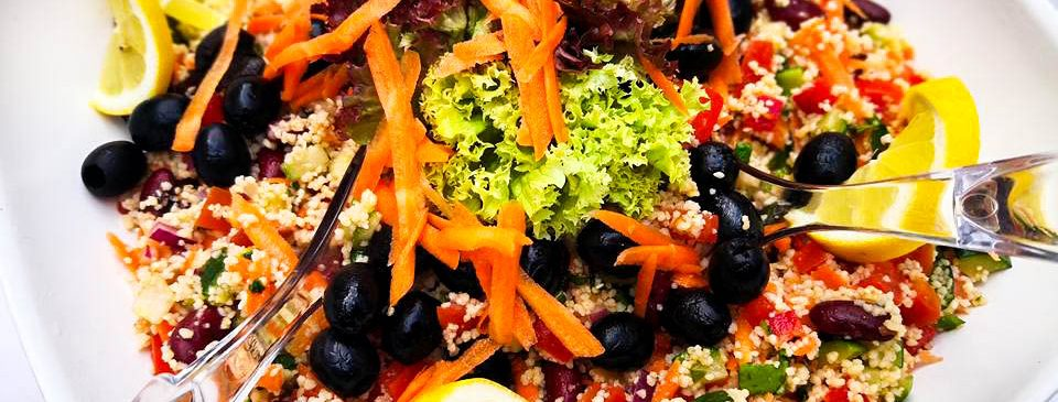 feiner Couscous Salat zum Grillen