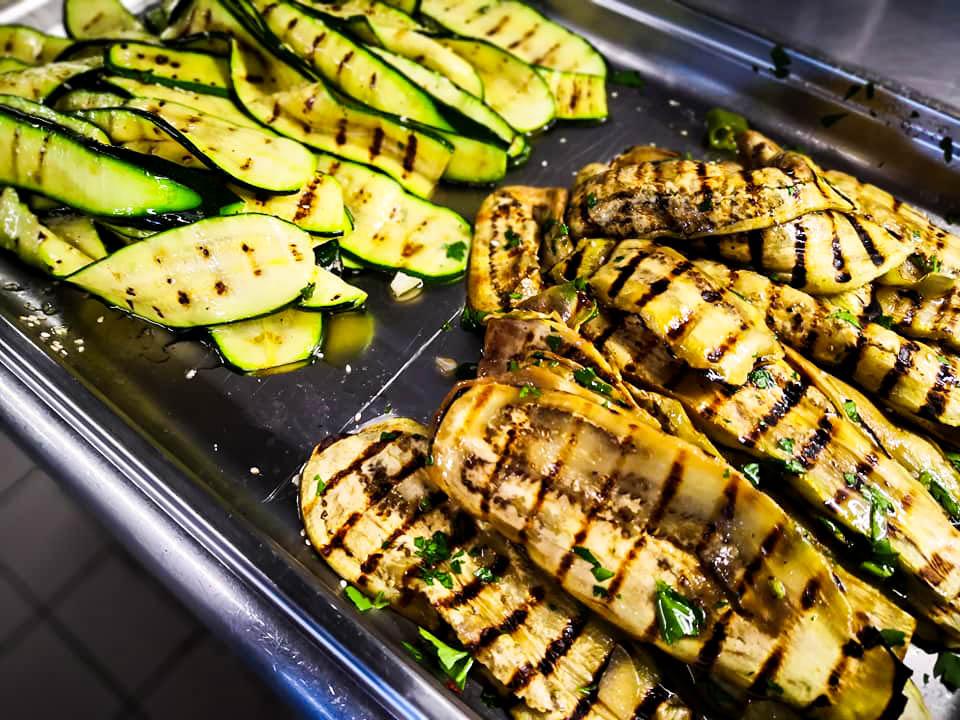 Gemüse biozertifiziert für den Business-Lunch