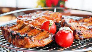 Grillbuffet zum Sommerfest