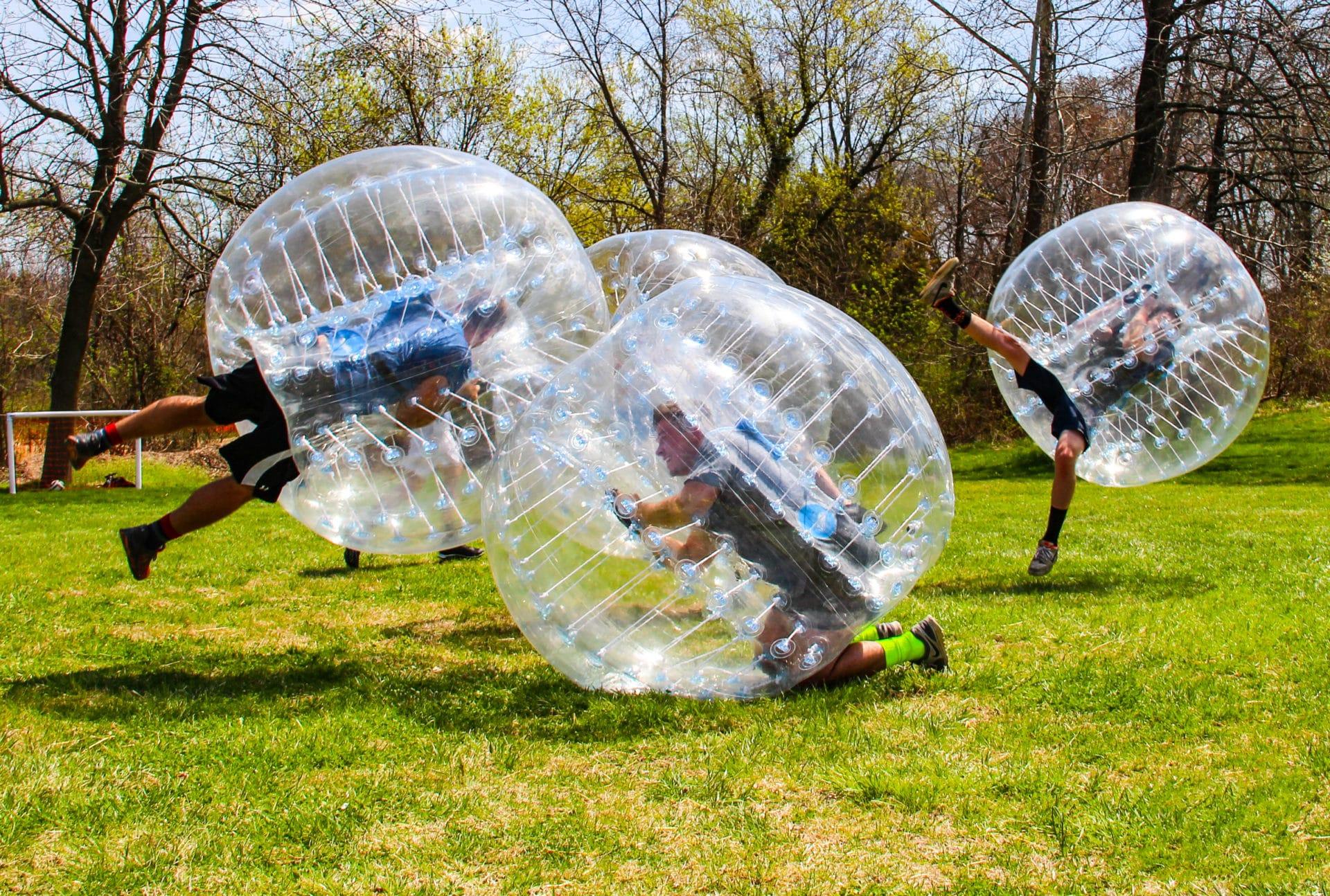 Bubble Soccer für ihr Sommerfest