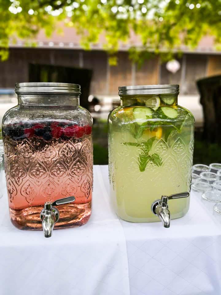 bei der Hochzeitsplanung denken wir an die Durstlöscher