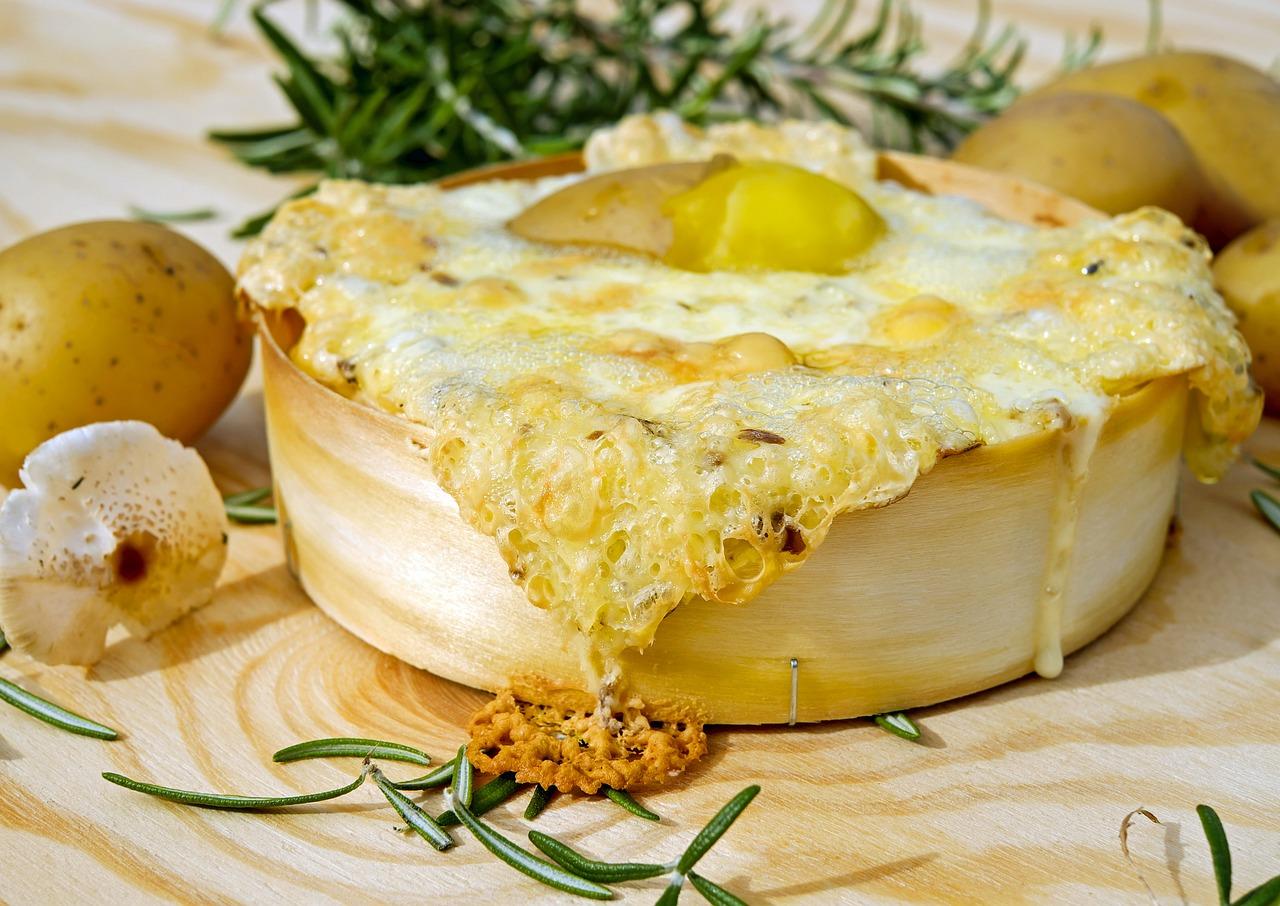 Raclette für das Berhüttenfest