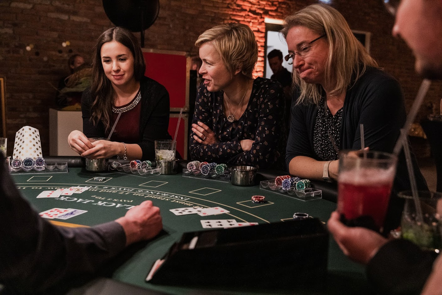Casinonacht mit GAVESI Catering