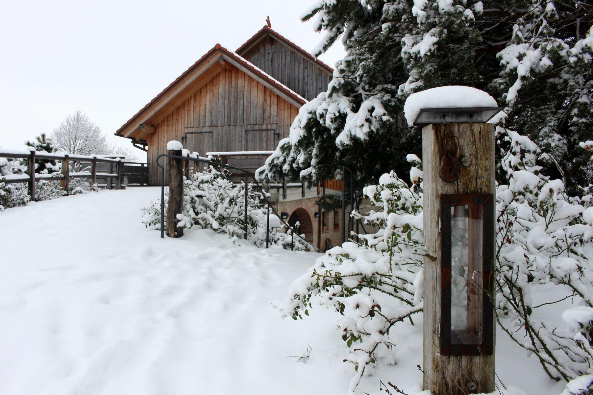 Winterhochzeit Alte Tenne